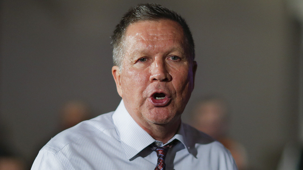 John Kasich on sexual assault: Don't go to parties where there's a lot of alcohol