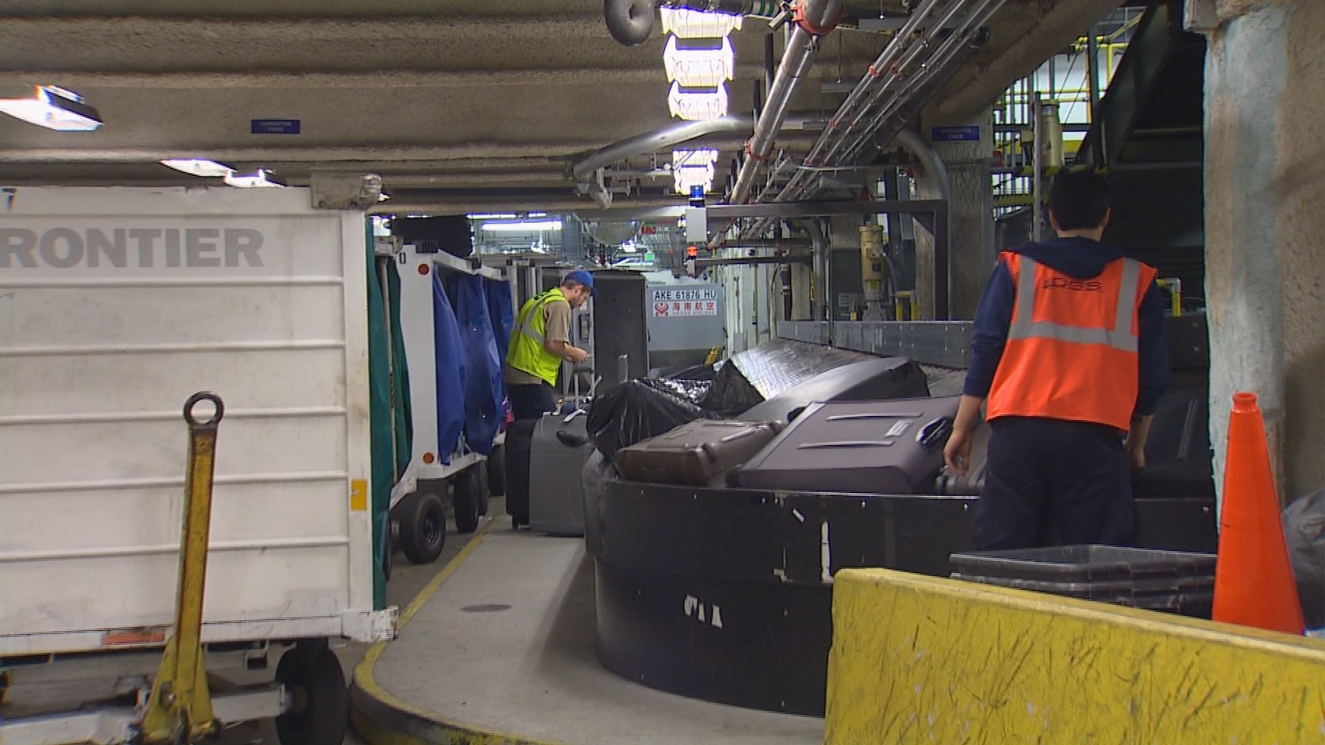 King5 Com Sea Tac Airport Plans New Baggage System