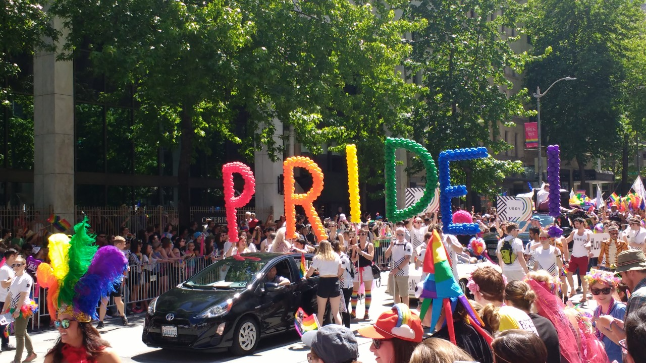 Seattle Gas Prices >> king5.com | Pride Parade draws thousands to Seattle