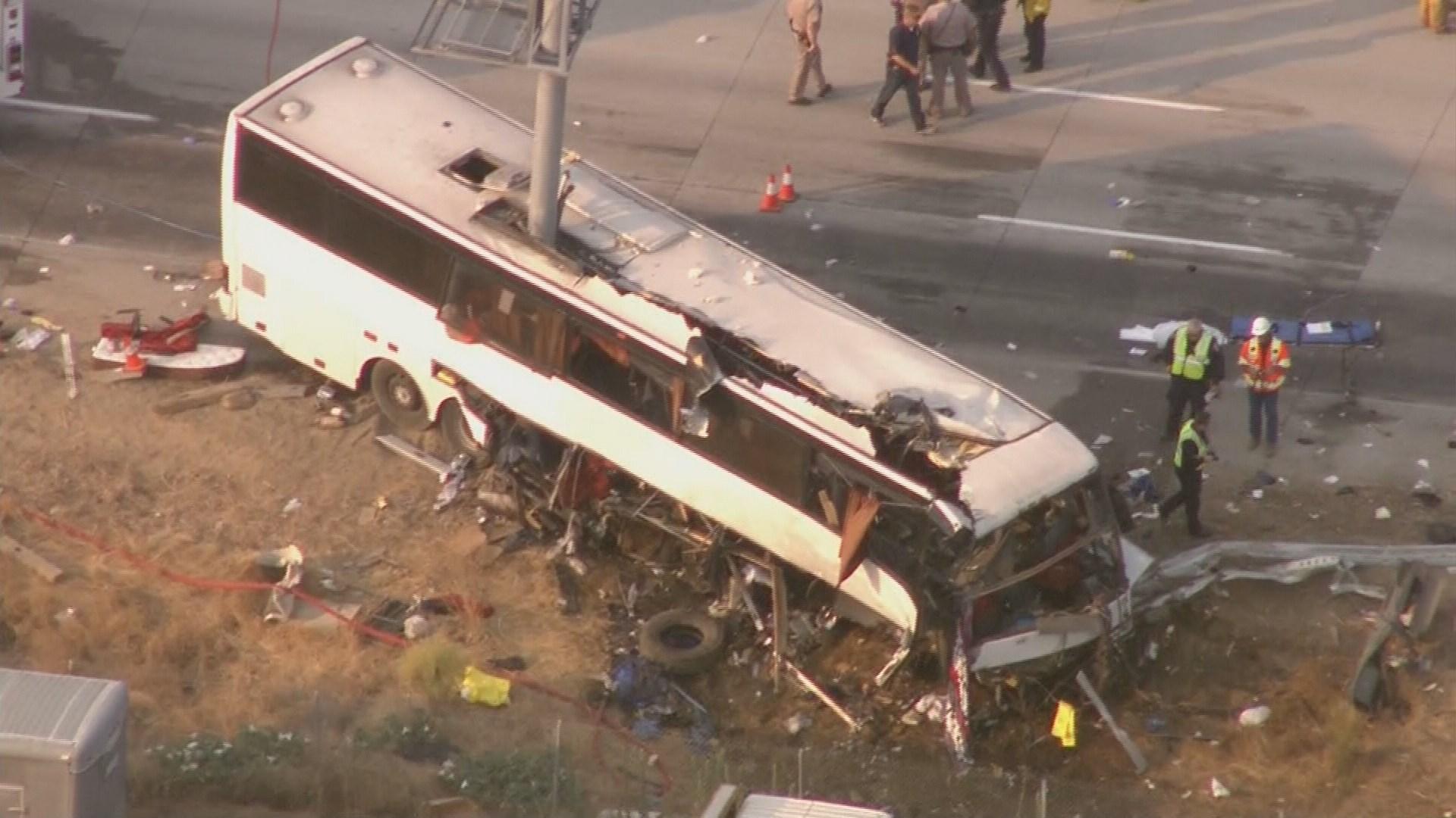 Tour Bus Crash Today