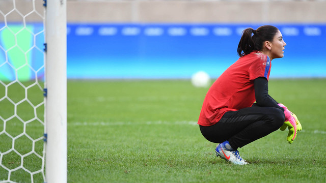 See the moment Hope Solo learned she was being terminated