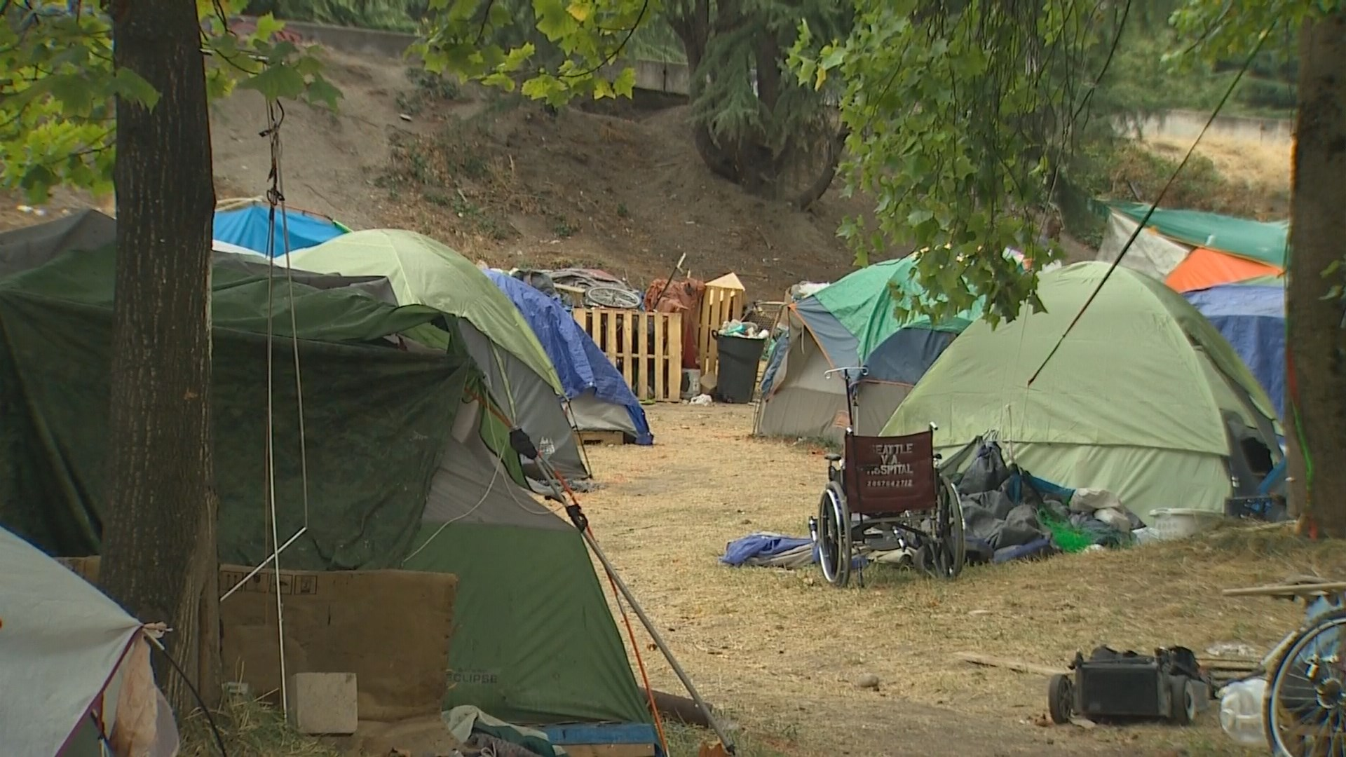 Council plan would allow homeless camps on thousands of ...