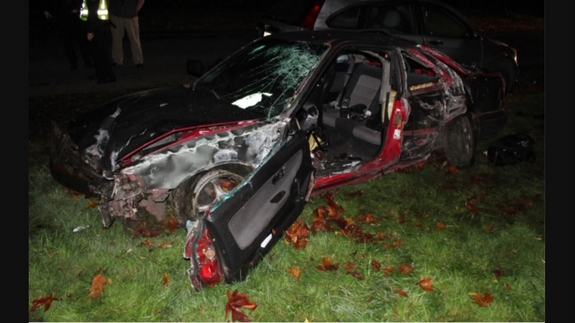 King5 Com High Speed Chase Leads To Man Crashing Into