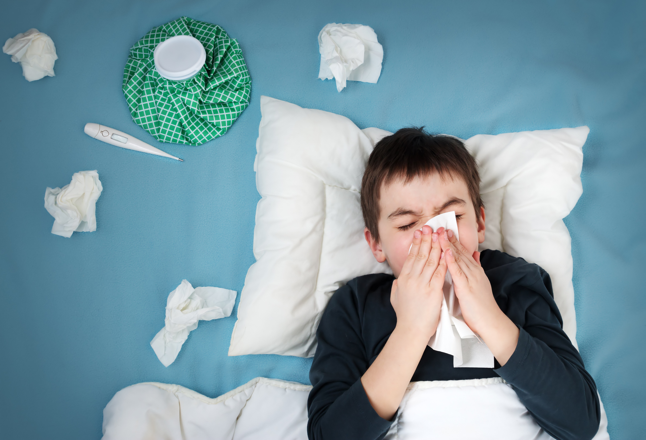 Flu cases spike over the past 2 weeks