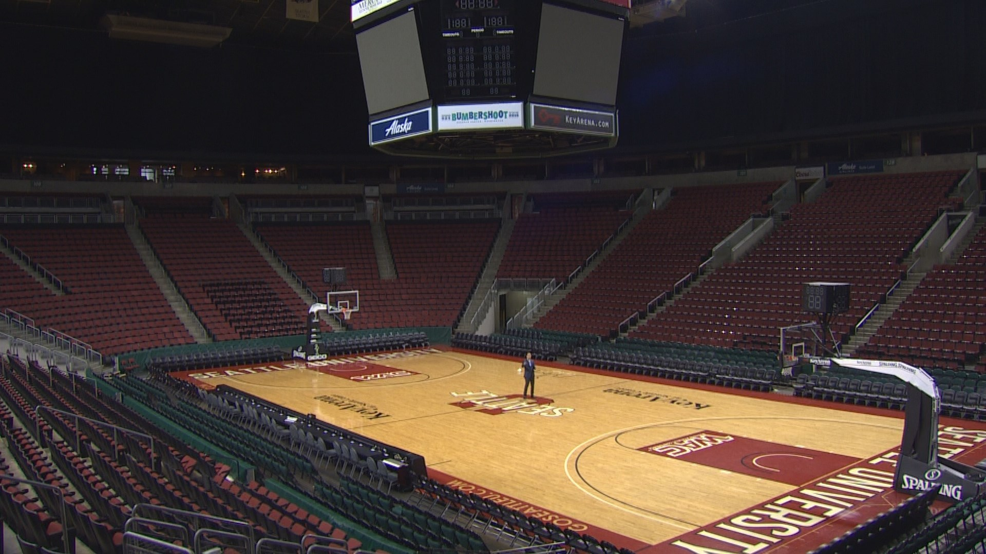 king5.com | KeyArena tour generates buzz on the outside
