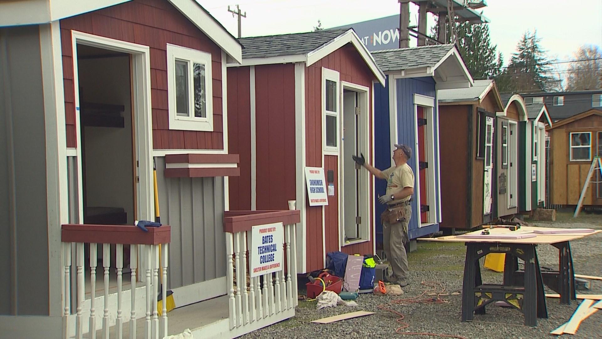 Photos Tiny House Seattle Wa: North Seattle Homeless Tiny House Village To