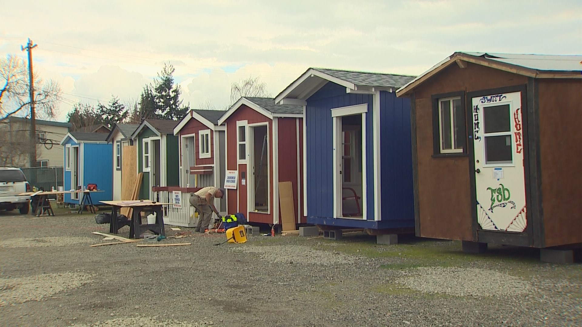 Photos Tiny House Seattle Wa: Seattle's Tiny House Villages A Concern Of